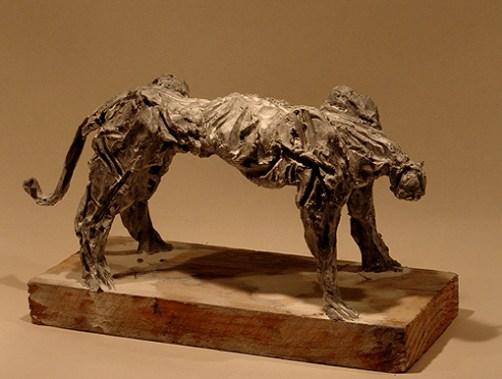 Panther 28x18cm bronze 1/8 ©2009
