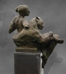 Affinity 103x78x34cm 1/8 bronze