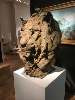 """Head of a Lion III"" on Masterpiece London 2019"