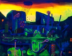 Untitled, Cerrado, 2015 (Cheira tão bem) 50 x 40 cm Mixedmedia, Canvas patrikmuchenberger.com