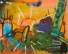 O lixo do Brasil, 2015 (Salve a Água) 50 x 40 cm Mixedmedia, Canvas patrikmuchenberger.comado