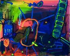 O lixo do Brasil, 2015(Salve a Água)50 x 40 cmMixedmedia, Canvaspatrikmuchenberger.com