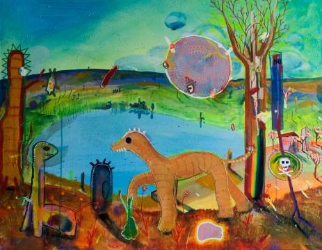 Pitango, 2015 (mais amor sem favor) 90 x 70 cm, Mixedmedia, Canvas, patrikmuchenberger.com
