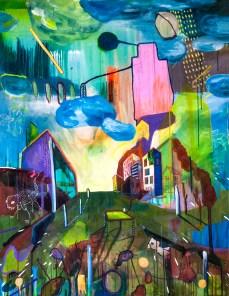 Untitled, Brasília, 2015 (A crença na boa) 100 x 130 cm Mixedmedia, Canvas patrikmuchenberger.com