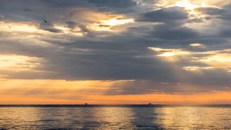St. Georg Island Florida Golf von Mexico