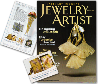 Jewelry Artist Magazine 2007