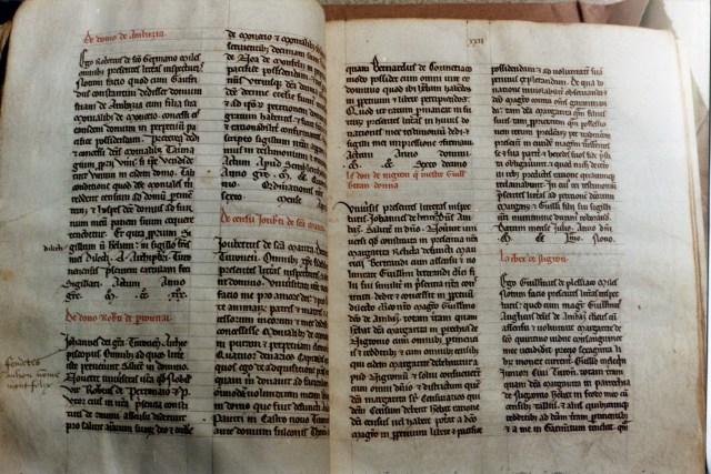 Cartulaire du prieuré de Moncé XIIIe siècle