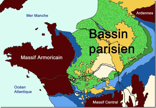 géologie du Bassin parisien