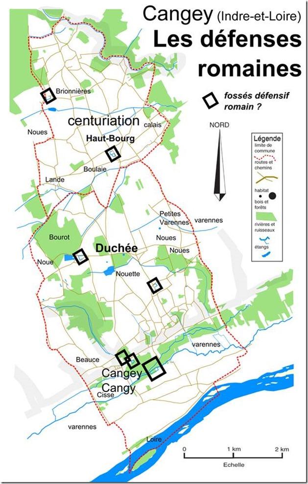 Extrait de la brochure : Histoire de Cangey par ses noms de lieux