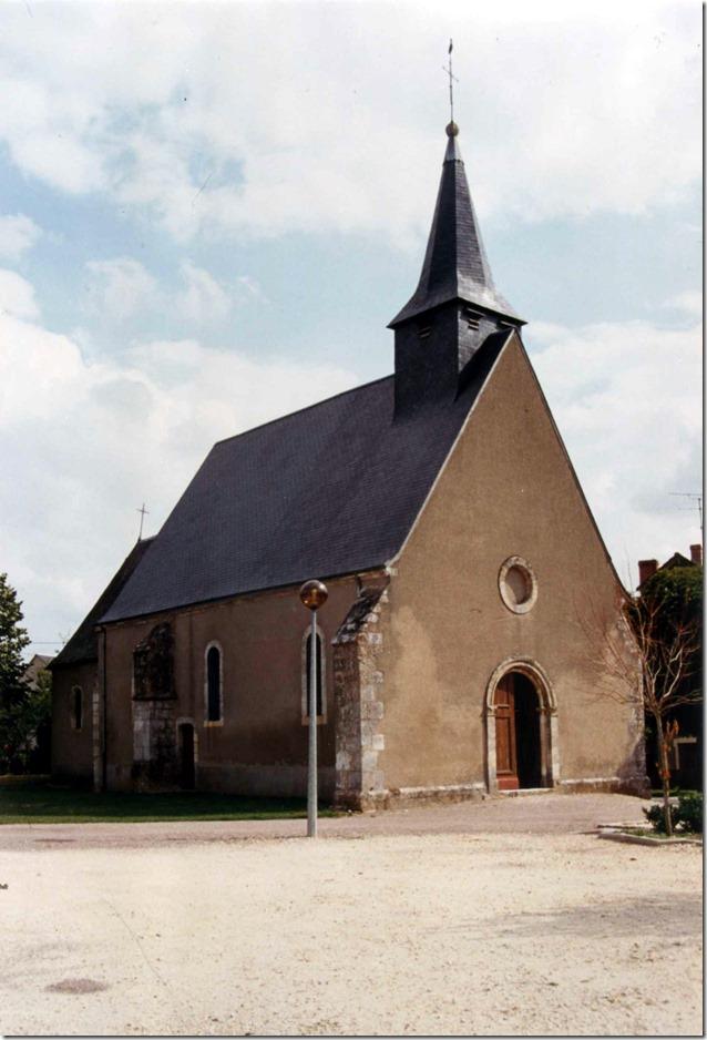 église Saint-Valentin de Saint-Valentin (Indre) XIIe-XIIIe-XIXe siècles