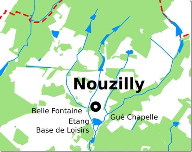 Zoom sur les ruisseaux de Nouzilly