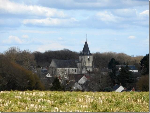 L'église Saint-André de Nouzilly (Indre-et-Loire)