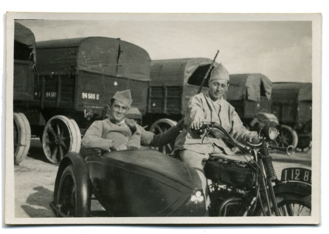 Louis Depussay, frère de Guy, en 1940