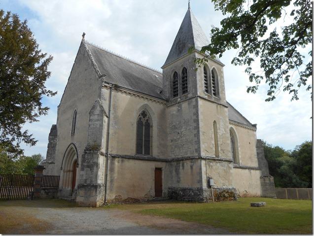 Eglise Saint-Michel  de Saint-Michel-en-Brenne (Indre, 28)