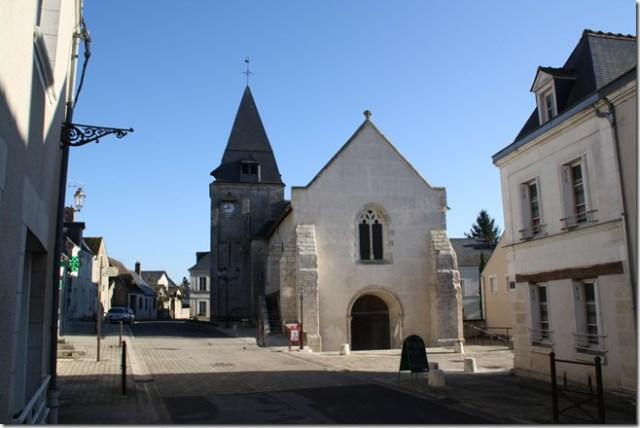 L'église Saint-Saturnin de Limeray (Indre-et-Loire)