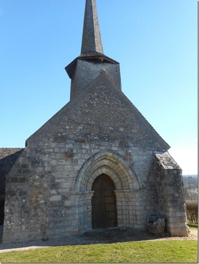 L'église Saint-Saturnin de Ceaulmont (Indre)