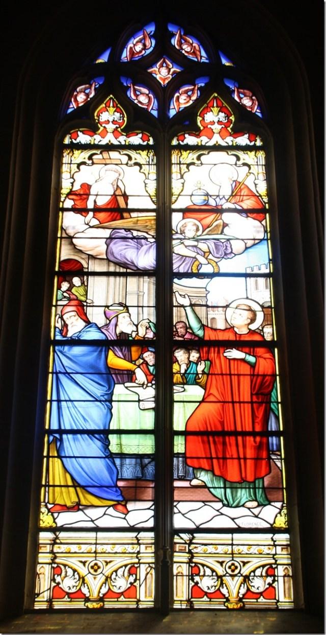 Vitraux de l'église Saint-Etienne de Pierrefitte-sur-Sauldre (Loir-et-Cher ; 41)