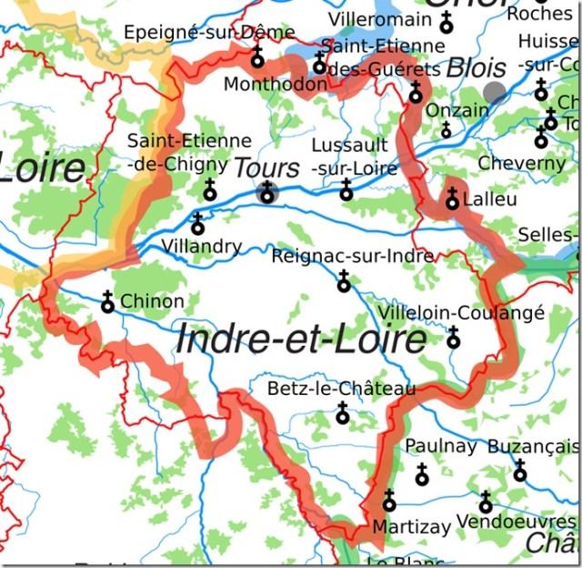 Les églises Saint-Etienne en Indre-et-Loire