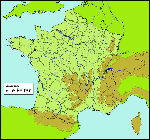 Le toponyme Le Peltar