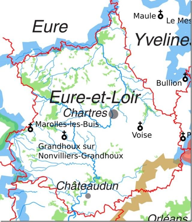 Les églises Saint-Vincent en Eure-et-Loir
