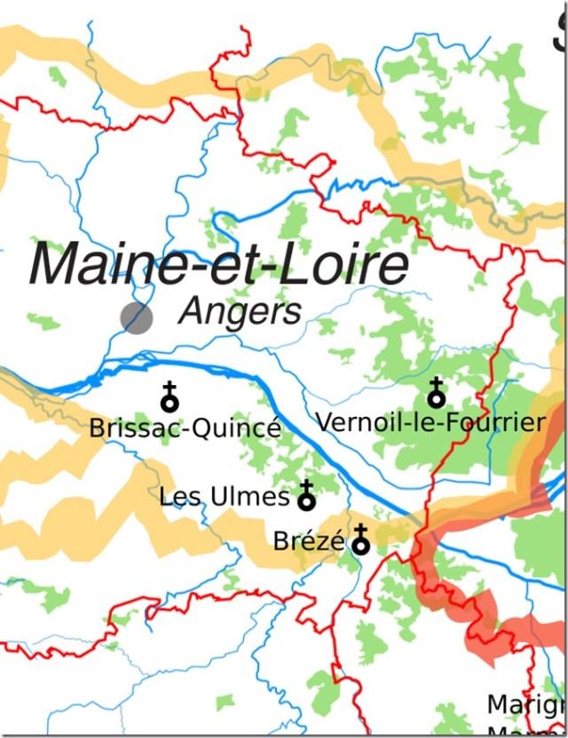 Les églises Saint-Vincent du Maine-et-Loire
