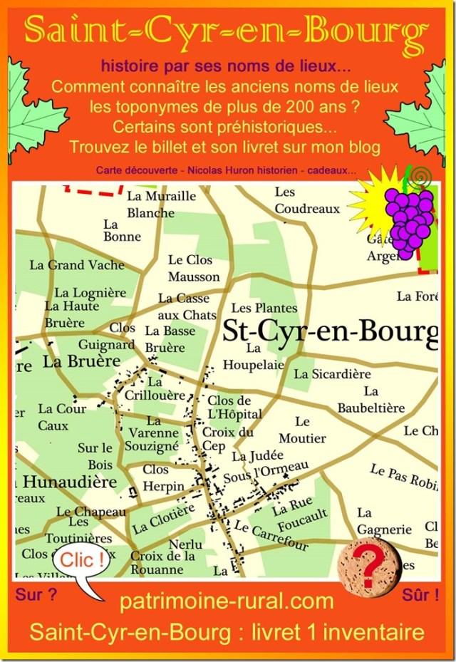Carte Saint-Cyr-en-Bourg 1