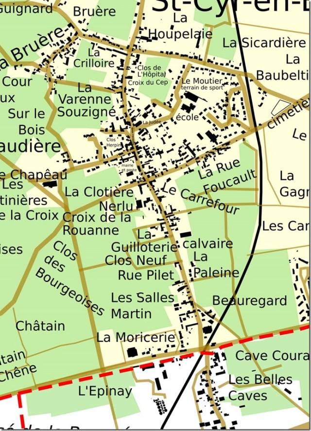 Saint-Cyr-en-BourgBourg