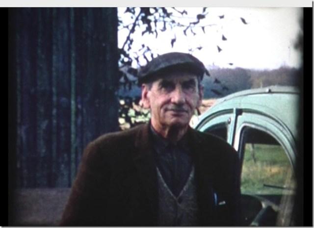 Guy Depussay, maire de Françay, mon grand-père, fermier à la Guillaumière