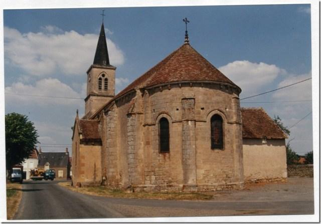 L'église Saint-Martin de Néret (36)