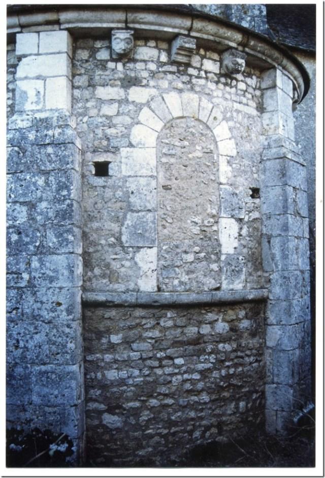 Cul du four du chevet de l'église Saint-Lubin d'Averdon (41)