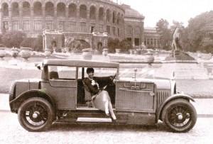 Josephine Baker en Voisin