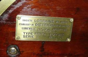 plaque d'identification