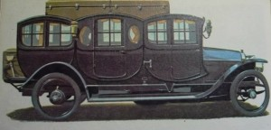 gregoire triple berline de 1910