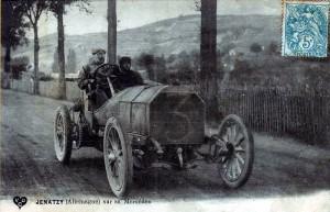 Jenatzy sur Mercedes1905