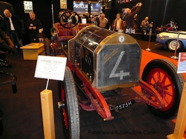 une berliet sport 1908  u00e0 retromobile