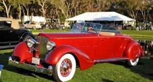 Sport Phaeton 1934 Packard v12 lebaron