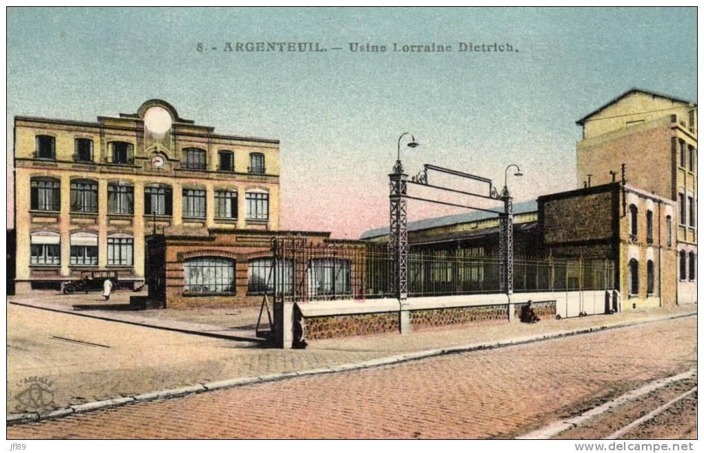 L 39 usine d 39 argenteuil partir de 1907 patrimoine automobile com - Usine a vendre paris ...