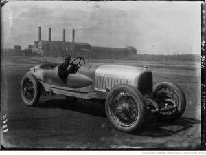 Duray sur la Voisin du Grand Prix de l'A.C.F. (Strasbourg), 1922 bis