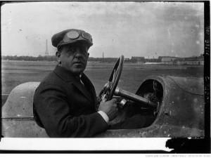 Gaudermen sur la Voisin du Grand Prix de l'A.C.F. (Strasbourg), 1922