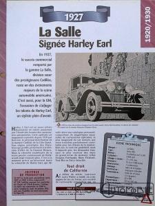 LaSalle-Fiche-2-225x300 Cadillac LaSalle 303 Torpédo de 1928 LaSalle 303 Torpedo de 1928