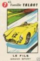 carte a jouer TALBOT LAGO grand sport voiture ancienne b (Copier)