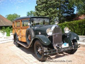 talbot-M75c-1-300x225 Talbot M75 C de 1930 Woodie Talbot M75 C de 1930 Woodie