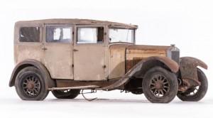 Berliet VRC 12 HP limousine avec séparation chauffeur - c. 1930