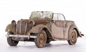 Singer roadster 1500 Châssis n° L4AD 3114 X