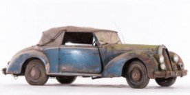 Talbot Lago Baby T15 LB cabriolet Guilloré - ca 1951 Châssis n° 120331