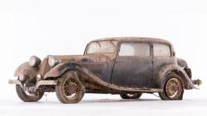 Talbot Lago T120 coach - ca 1936 Châssis n° 85493