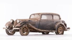 Talbot-Lago-T120-coach-ca-1936-Châssis-n°-85493-300x169 Sortie de grange pour la collection Baillon Autre Divers