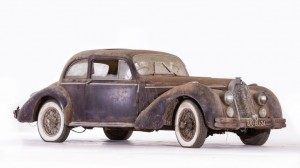 Talbot Lago T26 coach surprofilé - ca 1948 Châssis n° 102008