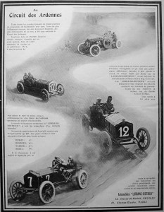3909-233x300 Lorraine Dietrich au circuit des Ardennes 1906 Lorraine Dietrich Lorraine Dietrich au circuit des Ardennes 1906