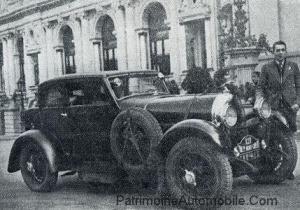 1931-2eme-Jean-Pierre-Wimille-sur-Lorraine-Dietrich-300x210 Jean-Pierre Wimille en B3-6 à la course de Monté-Carlo 1931 Divers Lorraine Dietrich Wimille en Lorraine Dietrich 1931